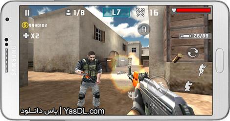 دانلود بازی Gun Shot Fire War 1.1.1 - کانتر استریک برای اندروید + پول بی نهایت