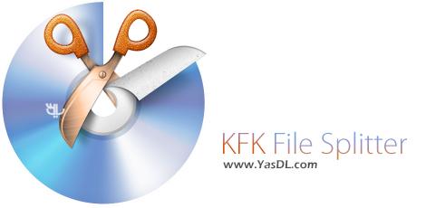 دانلود KFK File Splitter 3.19.0.53 + Portable - نرم افزار تکه تکه کردن فایل ها