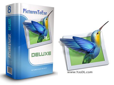 دانلود PicturesToExe Deluxe 8.0.22 + Portable - ساخت آلبوم های عکس حرفه ای