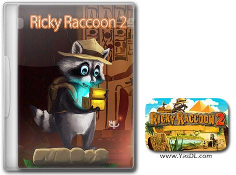 دانلود بازی کم حجم Ricky Raccoon 2 Adventures in Egypt برای کامپیوتر