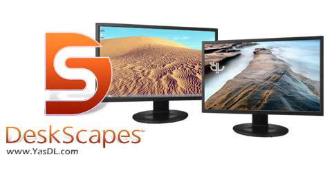 دانلود Stardock DeskScapes 8.51 - مدیریت و زیباسازی میزکار ویندوز