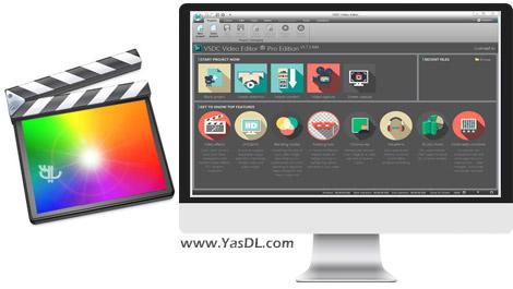 دانلود VSDC Video Editor Pro 6.7.0.289 - نرم افزار ویرایش فایل های ویدیویی