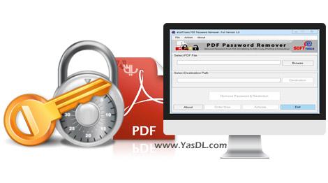 دانلود eSoftTools PDF Password Remover 1.0 - حذف پسورد فایل های PDF