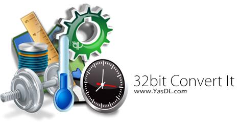 دانلود 32bit Convert It 17.01.01 - نرم افزار تبدیل واحدهای اندازه گیری