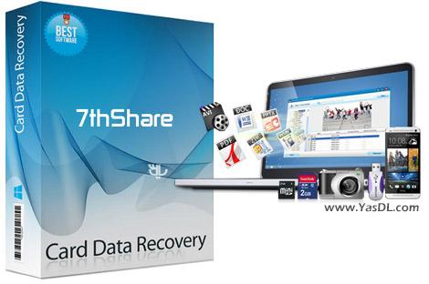 دانلود 7thShare Card Data Recovery 1.3.1.8 - بازیابی اطلاعات کارت های حافظه