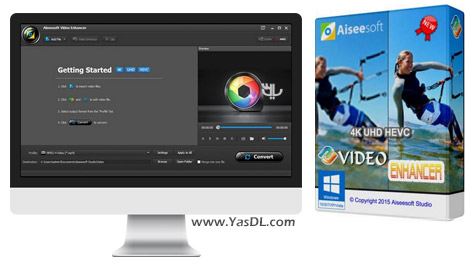دانلود Aiseesoft Video Enhancer 1.0.32 - بهینه سازی فایل های ویدیویی