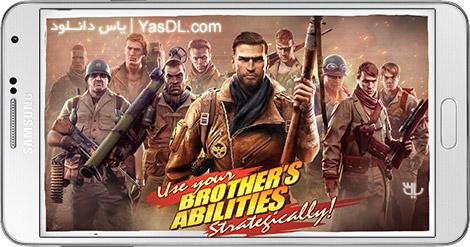 دانلود بازی Brothers in Arms 3 1.4.4c - برادران در جنگ 3 برای اندروید + دیتا