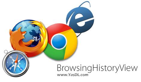 دانلود BrowsingHistoryView 1.91 x86/x64 - نمایش تاریخچه مرورگرهای وب