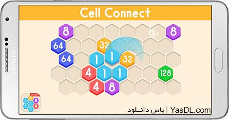 دانلود Cell Connect 1.0.9 - بازی با ارقام برای اندروید + پول بی نهایت