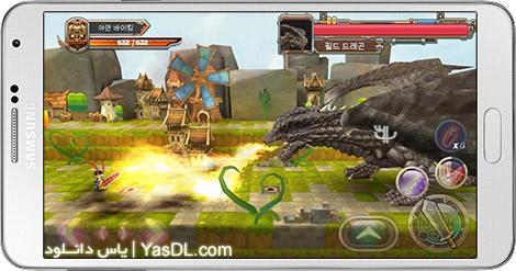 دانلود بازی Dragon Slayer EX 1.02 - قاتل اژدها برای اندروید