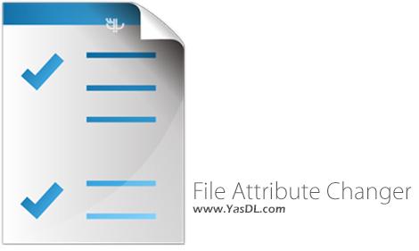 دانلود File Attribute Changer 1.1.2.20 - تغییر مشخصات فایل ها