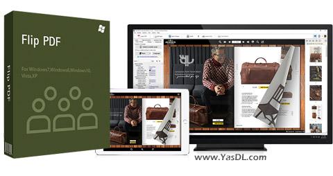 دانلود Flip PDF Corporate Edition 2.4.7.0 - ساخت کتاب های الکترونیکی