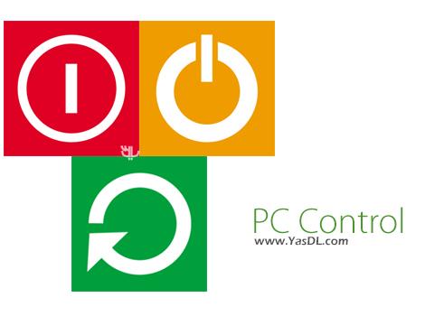 دانلود PC Control 2.0 - خاموش/ری استارت کردن سیستم با یک کلیک