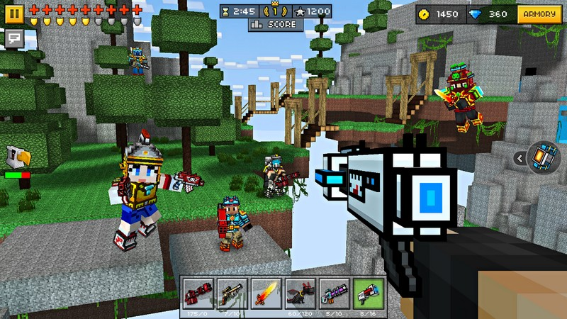 Pixel Gun 3D Pocket Edition 17.7.0 For Android + Infinity