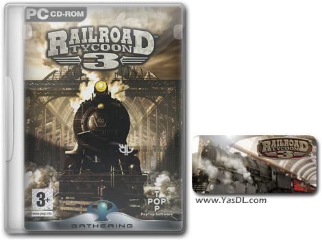 دانلود بازی Railroad Tycoon 3 برای PC