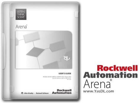دانلود Rockwell Automation Arena 14 - نرم افزار شبیه سازی رویداد گسسته و پیشامد