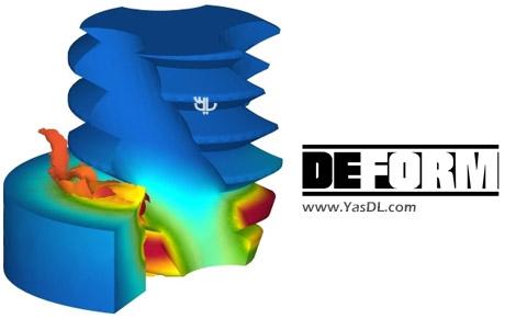 دانلود SFTC DEFORM PREMIER 11 - نرم افزار شبیه سازی فرآیندهای شکل دهی و اتصالات مکانیکی