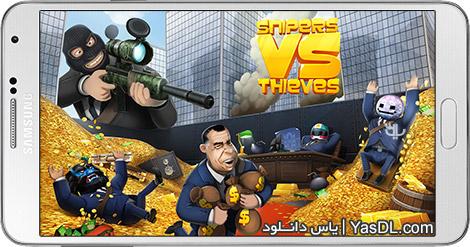 دانلود بازی Snipers vs Thieves 0.3.3614 - تک تیراندازها در برابر دزدها برای اندروید + پول بی نهایت
