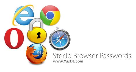 دانلود SterJo Browser Passwords 1.0 + Portable - نمایش پسوردهای ذخیره شده درمرورگرهای وب