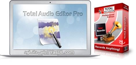 دانلود Total Recorder Editor Pro 14.8.1 - نرم افزار ضبط و ویرایش صدا