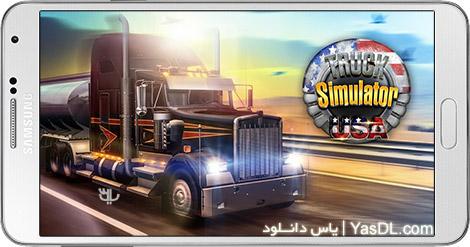 دانلود بازی Truck Simulator USA 1.1.0 - شبیه سازی کامیون آمریکایی برای اندروید + دیتا + پول بی نهایت