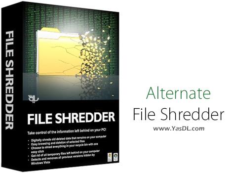 دانلود Alternate File Shredder 2.060 + Portable - نرم افزار حذف غیرقابل بازگشت داده ها