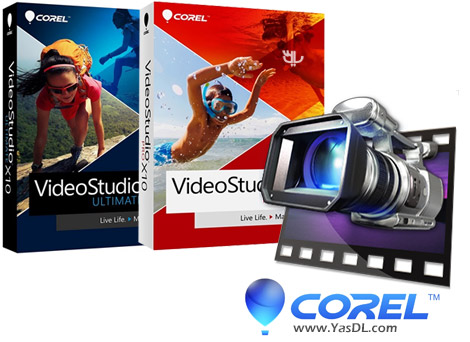 دانلود Corel VideoStudio Pro / Ultimate X10 20.1.0.14 x86/x64 - نرم افزار ویرایش و میکس ویدئو