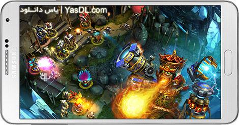 دانلود بازی Defenders TD Origins 1.8.62523 - مدافعان برای اندروید + دیتا