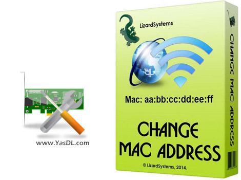 دانلود LizardSystems Change MAC Address 3.0.0 Build 121 - تغییر مک آدرس کارت شبکه