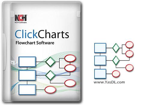 دانلود NCH ClickCharts Pro 2.03 - ترسیم فلوچارت و نمودارهای سازمانی