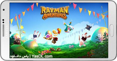 دانلود بازی Rayman Adventures 1.9.2 - ماجراجویی ریمن برای اندروید + دیتا