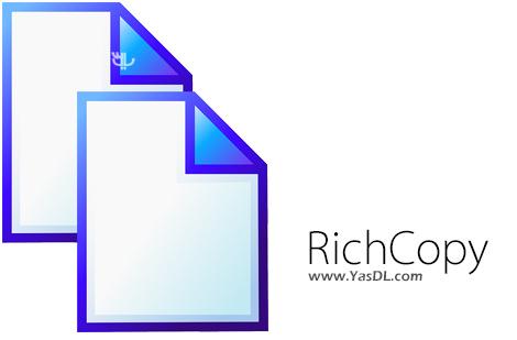 دانلود RichCopy 4.0 - نرم افزار کپی کردن سریع اطلاعات