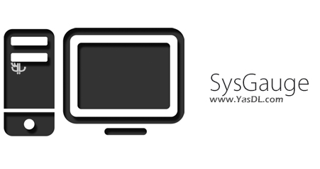 دانلود SysGauge 1.3.12 + Portable - نمایش اطلاعاتی مفید از سیستم