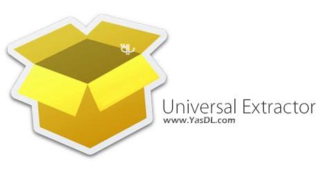 دانلود Universal Extractor 1.6.1 - مدیریت و استخراج فایل های فشرده