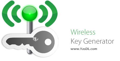 دانلود Wireless Key Generator 1.0 + Portable - تولید رمزهای عبور برای شبکه های بی سیم