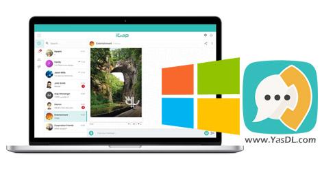 دانلود پیام رسان آی گپ برای کامپیوتر و ویندوز + اندروید iGap Windows