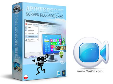 دانلود Apowersoft Screen Recorder Pro 2.2.5 - نرم افزار فیلمبرداری دسکتاپ