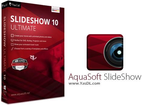 دانلود AquaSoft SlideShow 10 Ultimate 10.4.08 x86/x64 - ساخت اسلایدشو