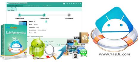 دانلود Coolmuster Lab.Fone for Android 3.1.64 - ریکاوری اطلاعات اندروید