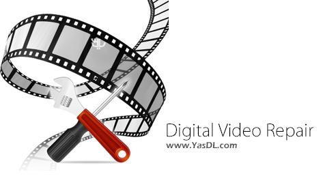 دانلود Digital Video Repair 3.7.1 + Portable - نرم افزار تعمیر فایل های ویدیویی