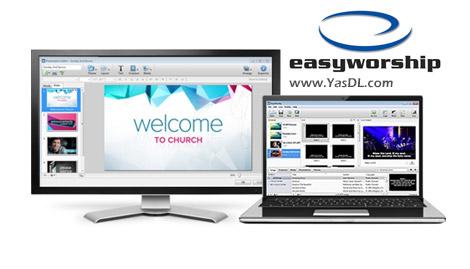 دانلود EasyWorship 6 Build 5.5 - ساخت ارائه های چند رسانه ای