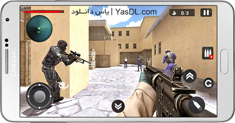 دانلود بازی Gunner Shooter 3D 1.1 - تیراندازی اول شخص برای اندروید + پول بی نهایت