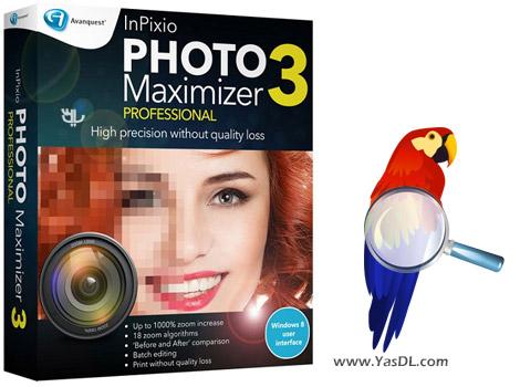 دانلود InPixio Photo Maximizer 2.03.25799 - ویرایش و بزرگ نمایی تصاویر بدون افت کیفیت