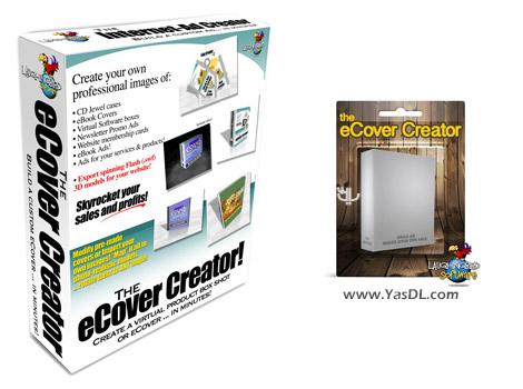 دانلود Laughingbird Software The eCover Creator 7.2.1 - ساخت کاور و جعبه 3 بعدی