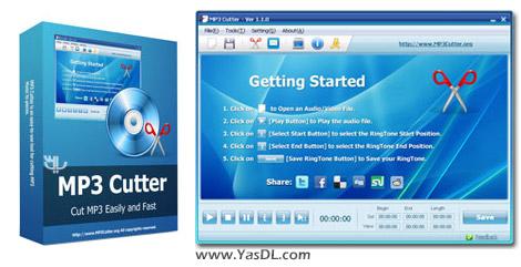 دانلود MP3 Cutter 2.1.0 - نرم افزار برش و تکه تکه کردن فایل های MP3