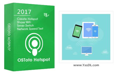 دانلود OSToto Hotspot 4.4.0.2 - به اشتراک گذاری اینترنت لپ تاپ