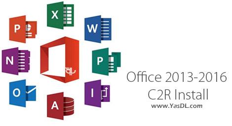 دانلود Office 2013-2019 C2R Install - نصب آنلاین محصولات آفیس