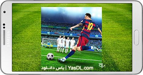 دانلود بازی Shoot Goal World Cup Soccer 1.9a - ضربات ایستگاهی برای اندروید