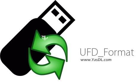 دانلود UFD_Format 8.5 - نرم افزار فرمت مولتی پارتیشن فلش مموری