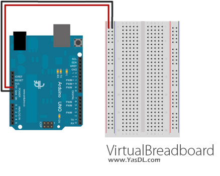 دانلود VirtualBreadboard 5.55 - نرم افزار شبیه سازی مدارهای یکپارچه